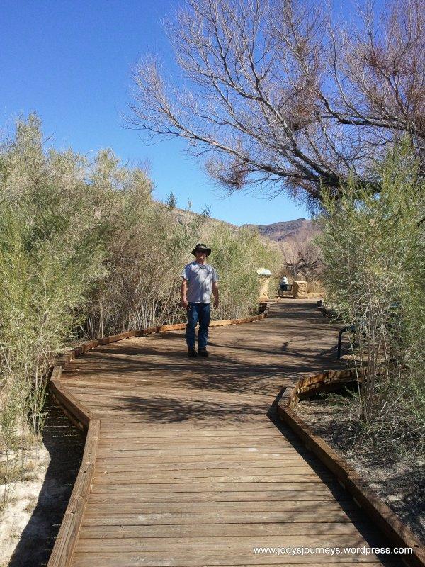 boardwalk of Ash Meadows