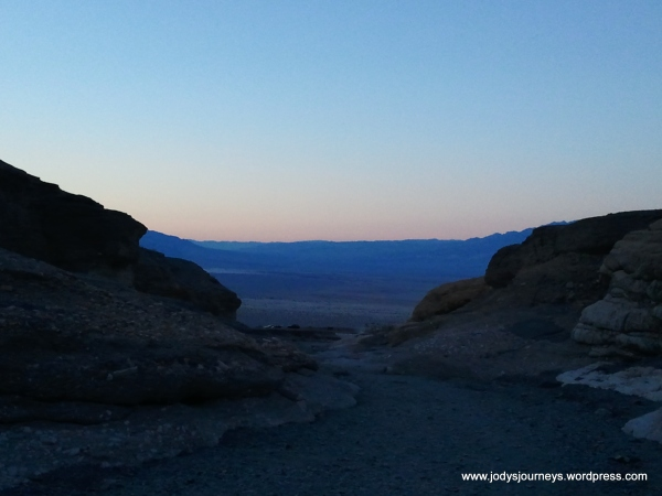 sunset death valley