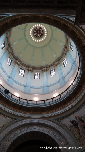 Inside Dome of Kentucky State capitol