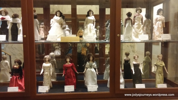 governor wives porcelain dolls