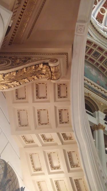 underside of stairway