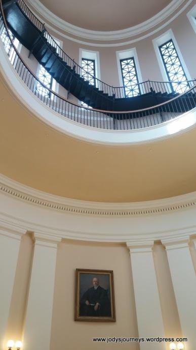 inside dome